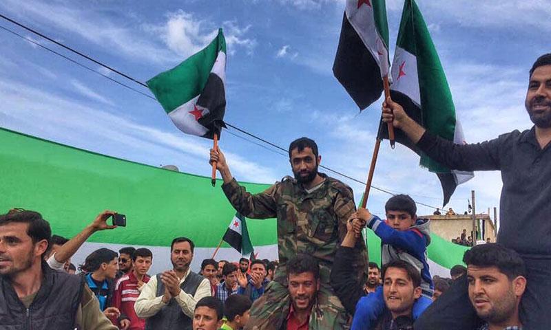القيادي في الجيش الحر بمدينة حلب يوسف زوعة- قتل الخميس 11 آب (تويتر)