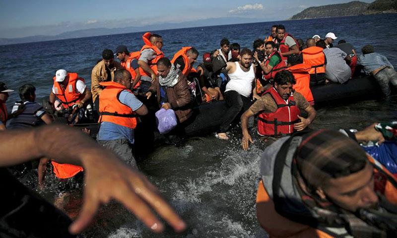 نجاة سوريين من الغرق قبالة السواحل التركية (أرشيفية)