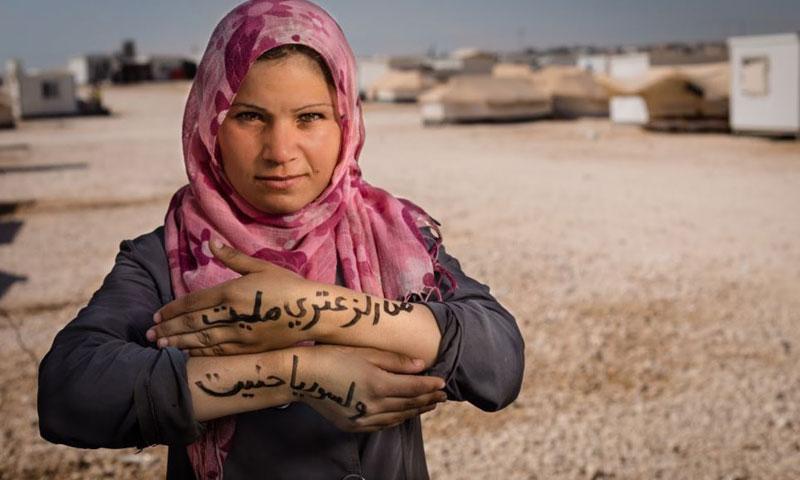 طفلة سورية في مخيم الزعتري في الأردن (أرشيفية)