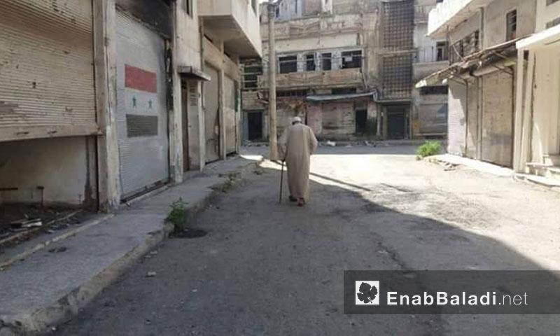 حي باب السباع في حمص - تموز 2016 (عنب بلدي)