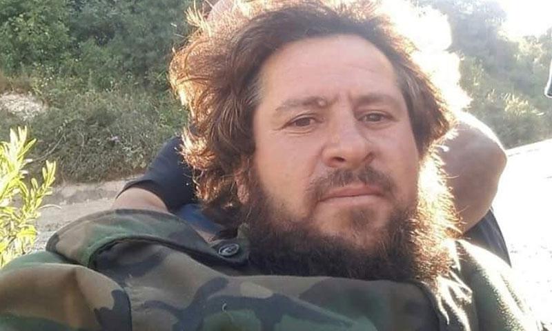 """القيادي في """"فيلق الشام"""" وافي هاشم (تويتر)"""