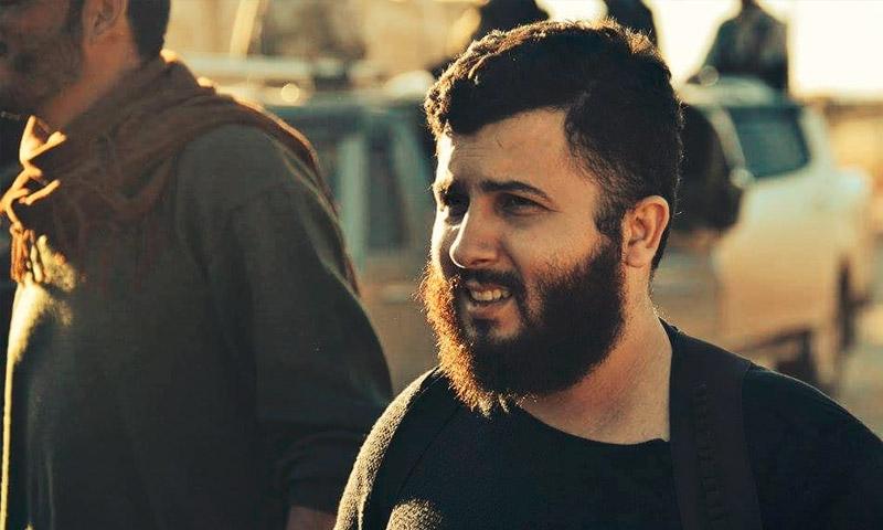"""رئيس المكتب السياسي في لواء """"المعتصم"""" التابع لـ""""الجيش الحر""""، مصطفى سيجري (فيس بوك)"""
