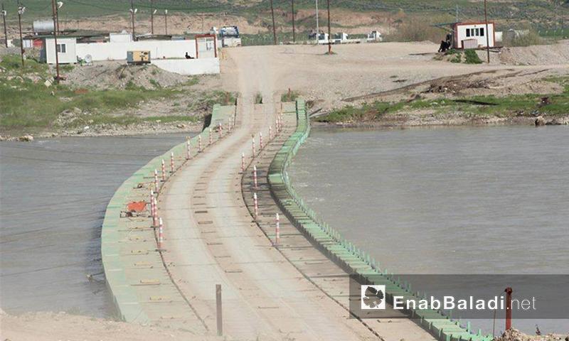 معبر سيمالكا الحدودي بين كردستان العراق وسوريا (عنب بلدي).