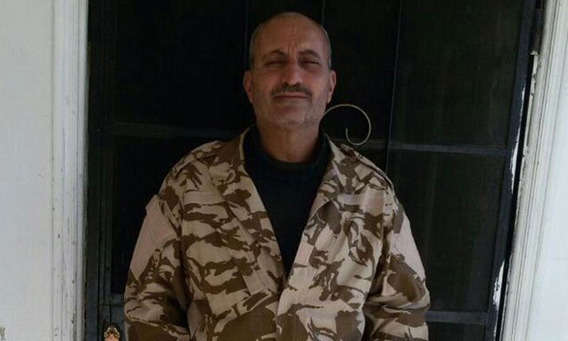 العقيد زيدان نصيرات- توفي في آذار 2016 (تويتر)