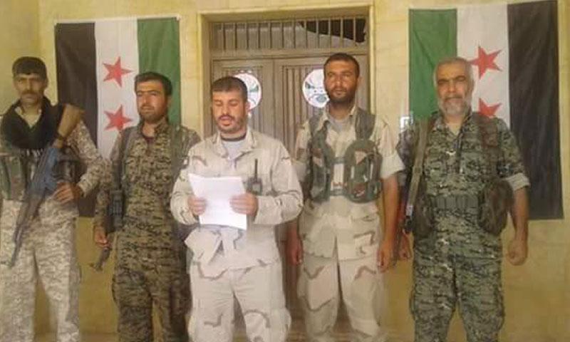 عبد الستار الجادر يعلن تأسيس المجلس العسكري في جرابلس (تويتر)