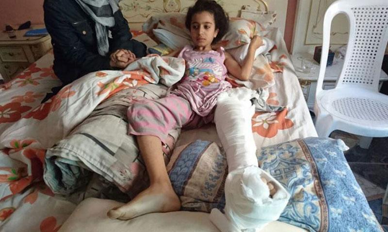 الطفلة غنى أحمد وادي (فيس بوك)