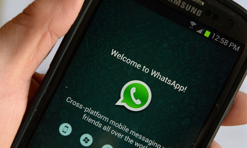 """تعبيرية: تطبيق """"واتساب"""" على الهواتف الذكية (إنترنت)"""
