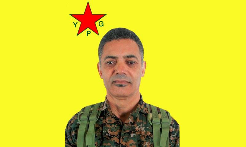 صورة المصري بادين الإمام (وحدات حماية الشعب الكردية)