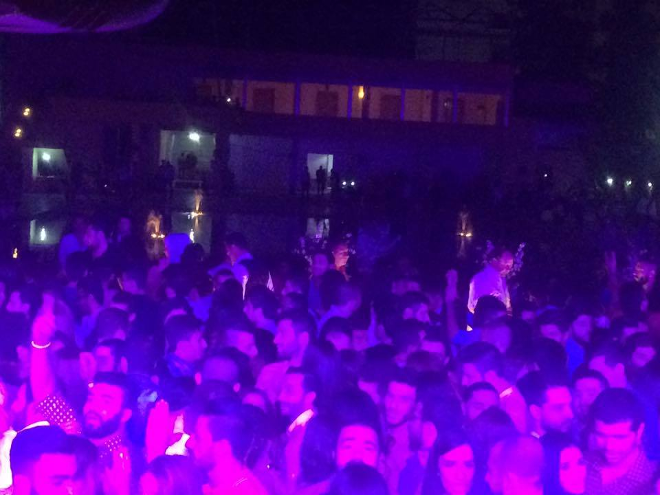 صور من حفلة مسبح ونادي الحرية في المناطق الموالية للنظام السوري في حلب - الأحد 25 أيلول (فيس بوك)