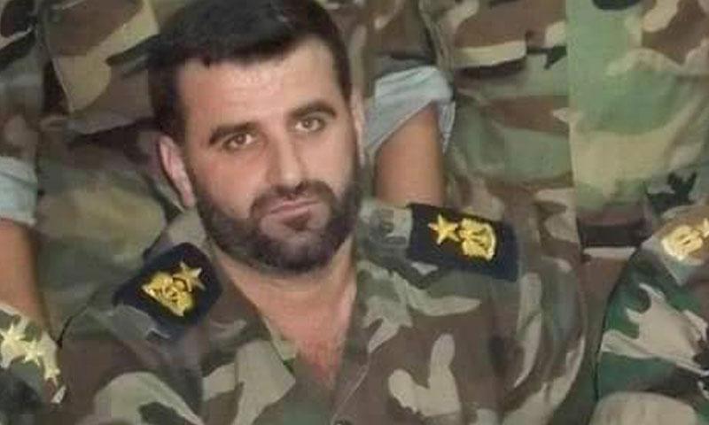 المقدم فارس بيوش- قائد الفرقة الشمالية في الجيش الحر (فيس بوك)