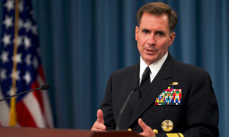 المتحدث الرسمي باسم وزارة الخارجية الأمريكية جون كيربي (إنترنت)