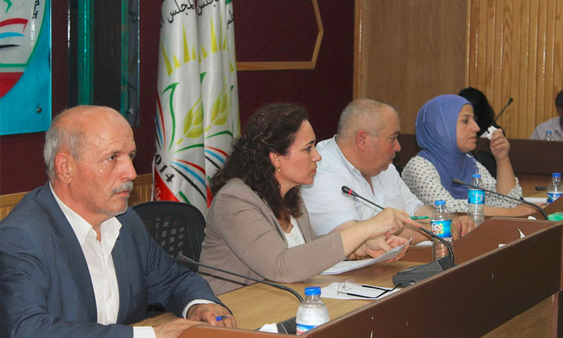 أعضار المجلس التشريعي لمقاطعة الجزيرة (فيس بوك)