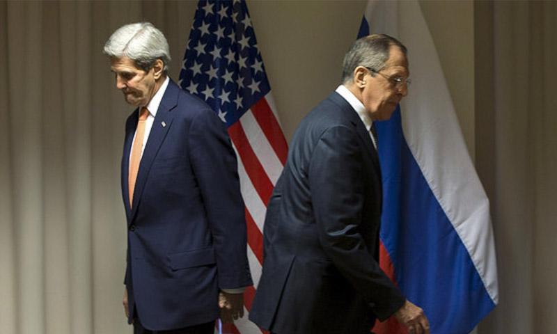 وزيرا الخارجية الأمريكي والروسي (إنترنت)