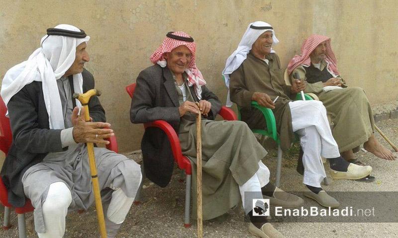 مسنون في ريف الحسكة - آب (عنب بلدي