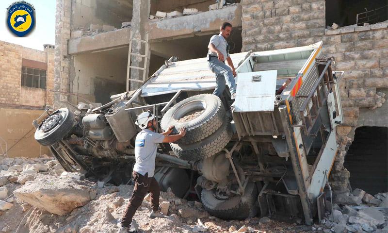 مركز للدفاع المدني في حلب - الجمعة 23 أيلول (الدفاع المدني في حلب)