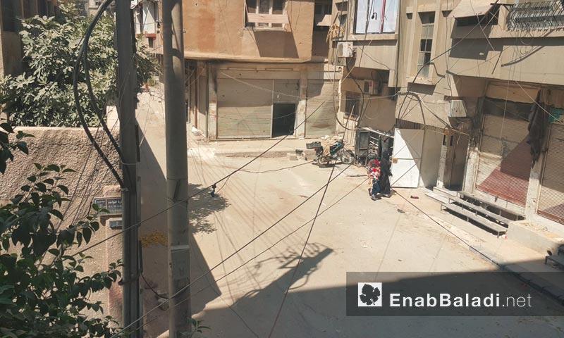 مدينة دوما في الغوطة الشرقية 14 أيلول (عنب بلدي)