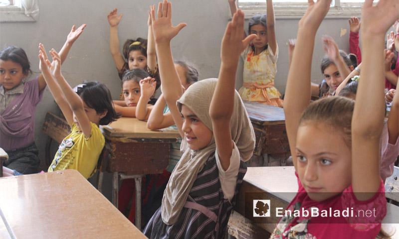 مدارس دوما والقطاع الأوسط في الغوطة الشرقية - 30 آب (عنب بلدي)