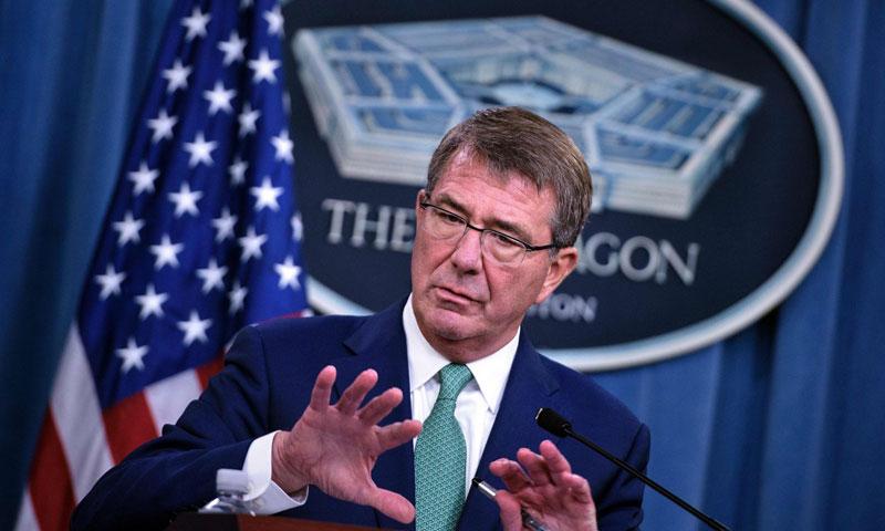 وزير الدفاع الأمريكي آشتون كارتر (وكالات)
