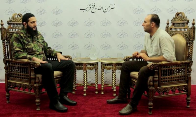 أبو محمد الجولاني، زعيم جبهة