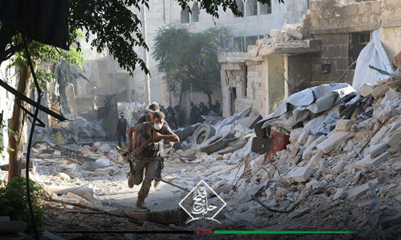 """مقاتلو """"الجيش الحر"""" على جبهات حلب - أيلول 2016 (فتح حلب)"""