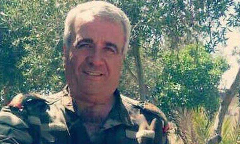 اللواء علي خلوف (فيس بوك)