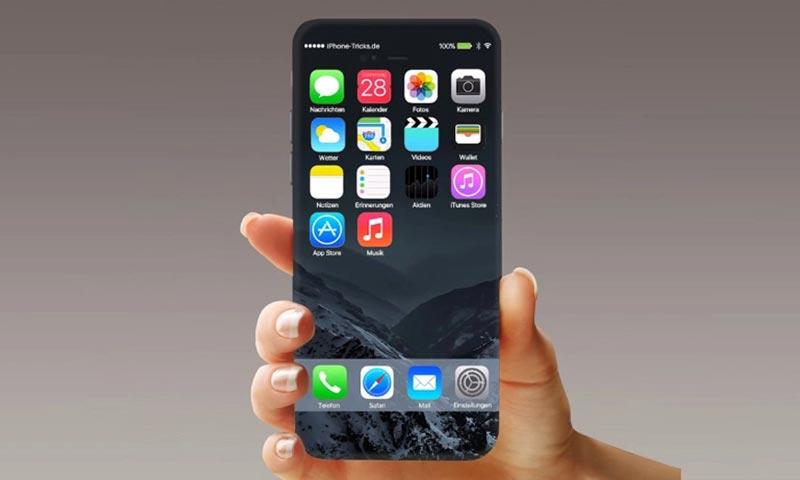 """صورة متوقعة لهاتف """"آيفون 8"""" (إنترنت)"""