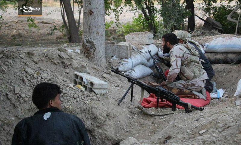 مقاتلو المعارضة على جبهات الغوطة الشرقية - 27 أيلول (جيش الإسلام)