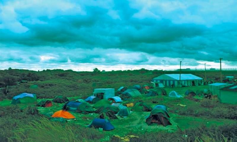مخيم كاليه للاجئين - صحيفة الحياة