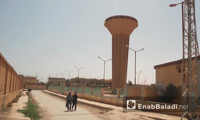مدينة الميادين في دير الزور - نيسان 2013 (أرشيف عنب بلدي)
