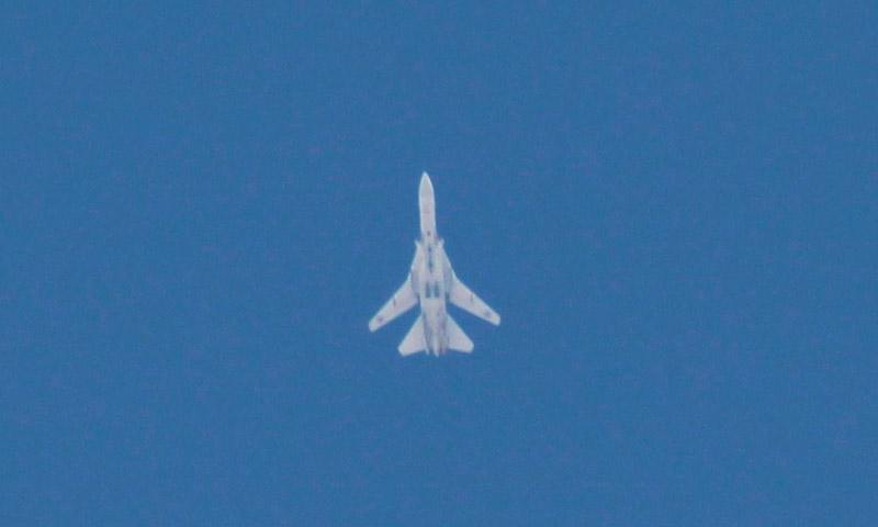 طائرة روسية شمال سوريا - تشرين الأول 2015 (ناشطون)