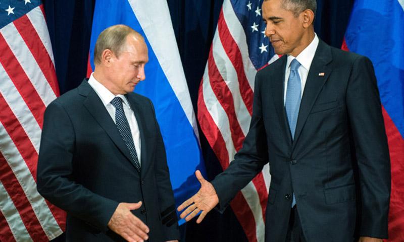 الرئيسان الأمريكي والروسي (إنترنت)