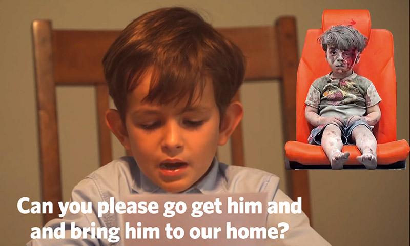 الطفل الأمريكي أليكس يقرأ رسالته إلى أوباما (يوتيوب)