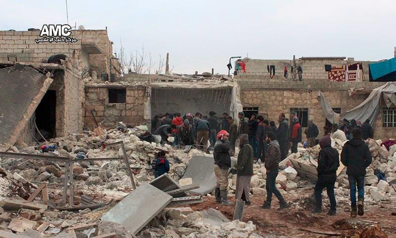 تعبيرية: ريف حلب الغربي (إنترنت)