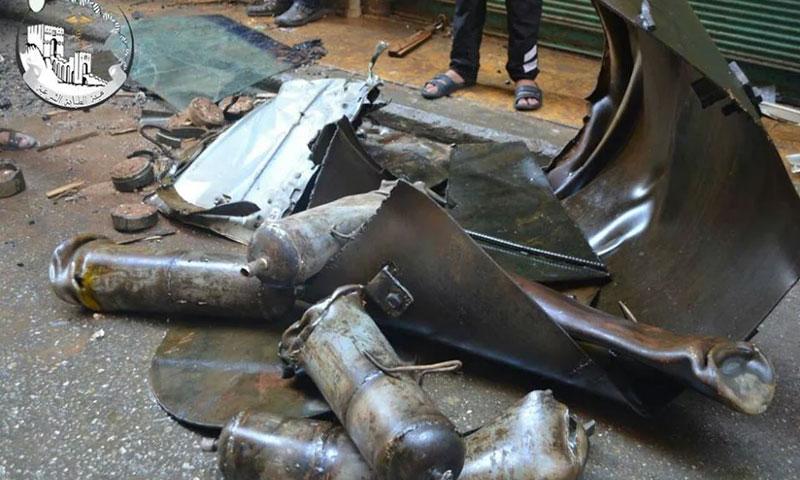 العبوات التي سقطت على حي السكري في حلب - 6 أيلول (الطبابة الشرعية في حلب
