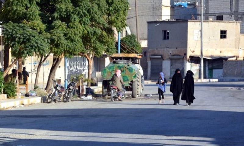 مدينة جرابلس 2 أيلول (AFP)