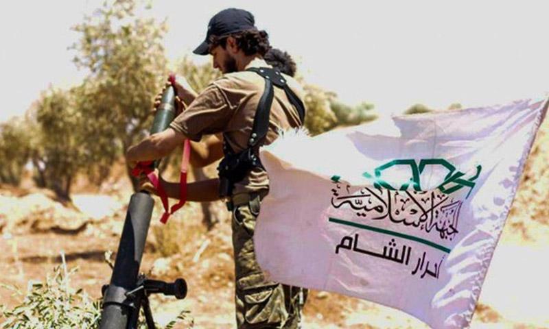 تعبيرية: مقاتل من حركة أحرار الشام (إنترنت)
