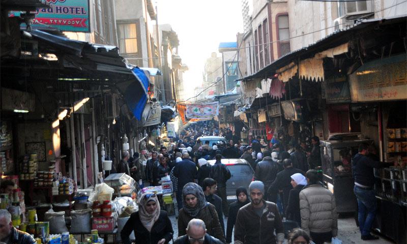 باب سريجة في دمشق (انترنت)