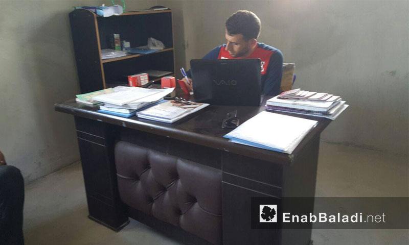 مكتب فريق سجل داريا المدني في ريف إدلب - الخميس 22 أيلول (عنب بلدي)