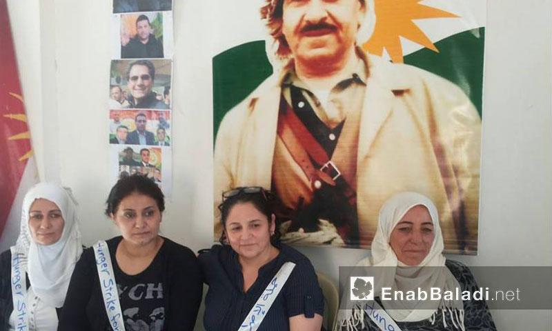 حملة إضراب عن الطعام في مدينة عامودا- الأربعاء 7 أيلول (عنب بلدي)