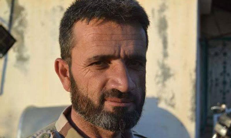 """المقدم فارس بيوش قائد الفرقة الشمالية في """"الجيش الحر"""" (إنترنت)"""