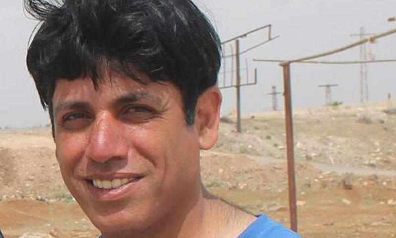 الناشط الإعلامي أيمن بجبجوج (نبأ)