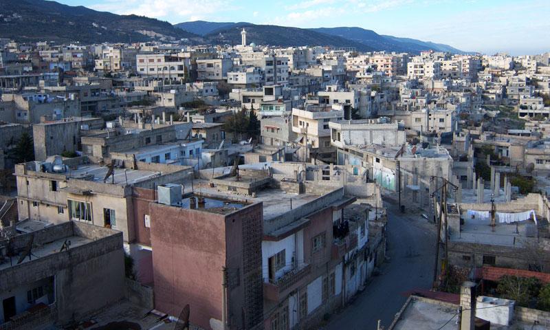 مدينة مصياف في ريف حماة الغربي (إنترنت)