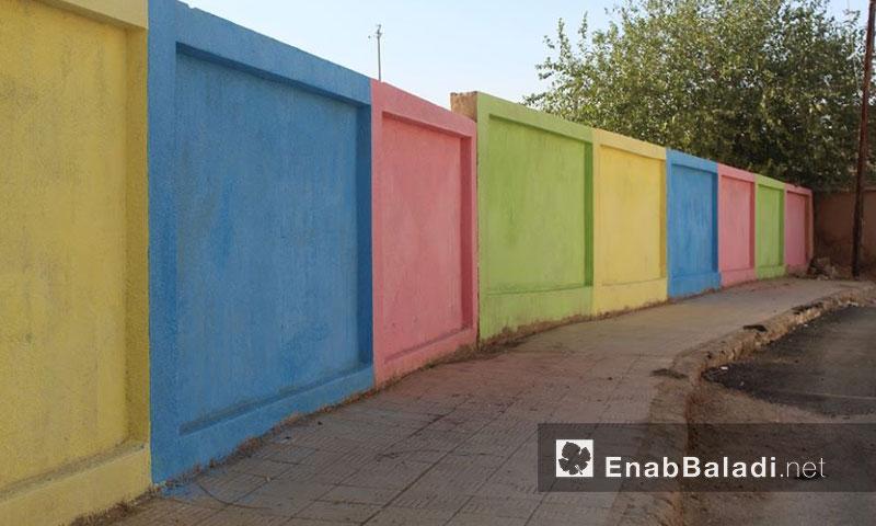 """من فعاليات """"ألواننا سلامنا"""" في مدينة القامشلي- الخميس 22 أيلول (عنب بلدي)"""