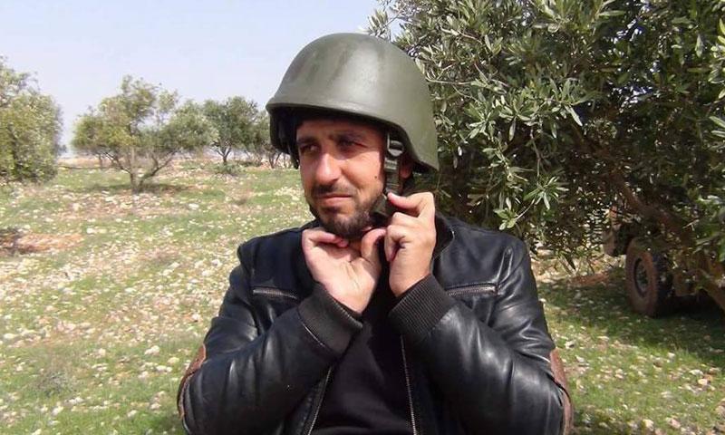 القيادي في الجيش الحر حسام أبازيد (فيس بوك)