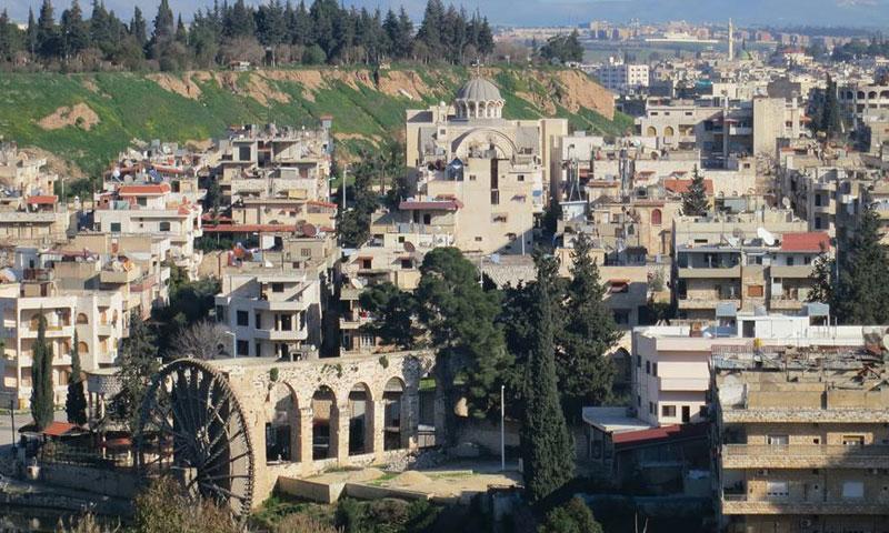 أرشيفية- منطقة باب النهر في مدينة حماة (عدسة شاب حموي)
