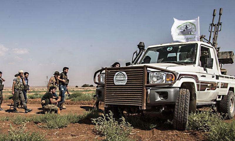 """جانب من معارك غرفة عمليات """"حور كلس""""- السبت 3 أيلول (الجبهة الشامية)"""