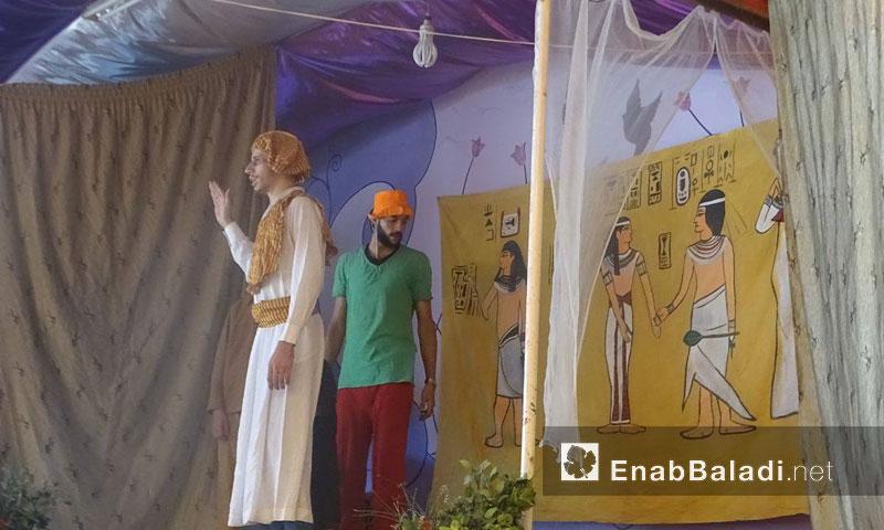 مسرحية في حي القابون الدمشقي- الأحد 4 أيلول (عنب بلدي)