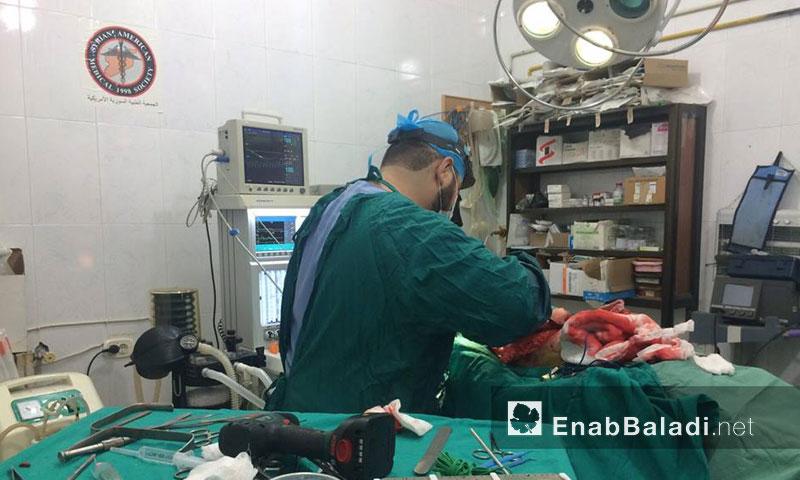 أطباء في حلب المحررة ينجحون في إجراء عملية معقدة- الأحد 11 أيلول (عنب بلدي)