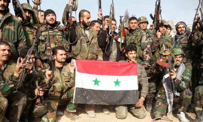 أرشيفية- عناصر من قوات الأسد (إنترنت)