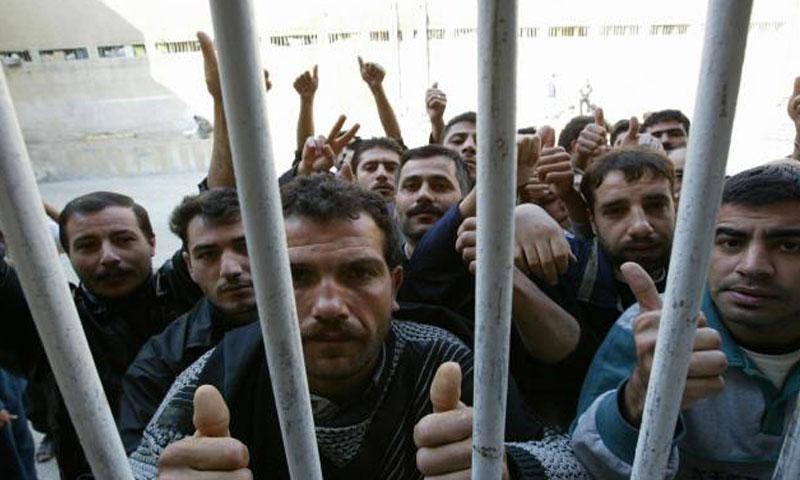 أرشيفية- معتقلون لدى النظام السوري
